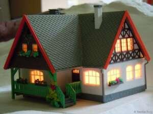 Licht im Forsthaus