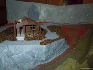 Begrünung am Nationalparkhaus in Waldesruh