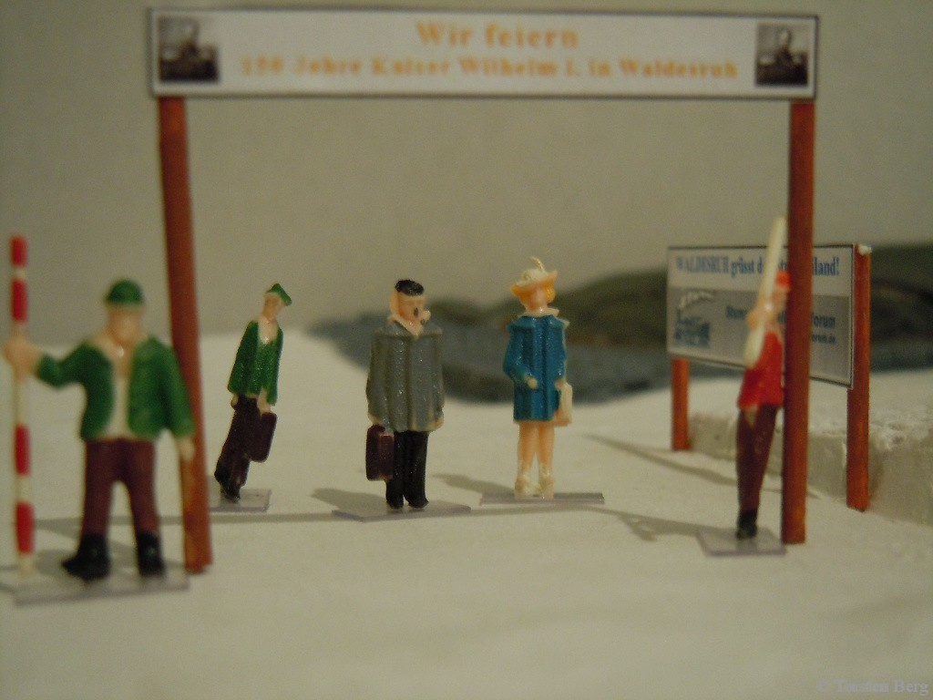Kaiser-Wilhelm-Tag in Waldesruh