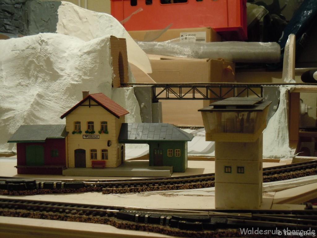 Baubericht Bahnhof Waldesruh und Bahnhofsumfeld