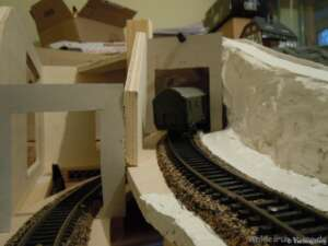 Schablonen für Tunnelportale