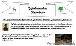 Waldesruher Tagesbote - Die Regionalzeitung für Waldesruh