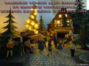 Weihnachtsgrüße aus Waldesruh