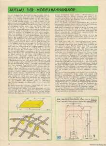 19_Aufbau der Modellbahnanlage