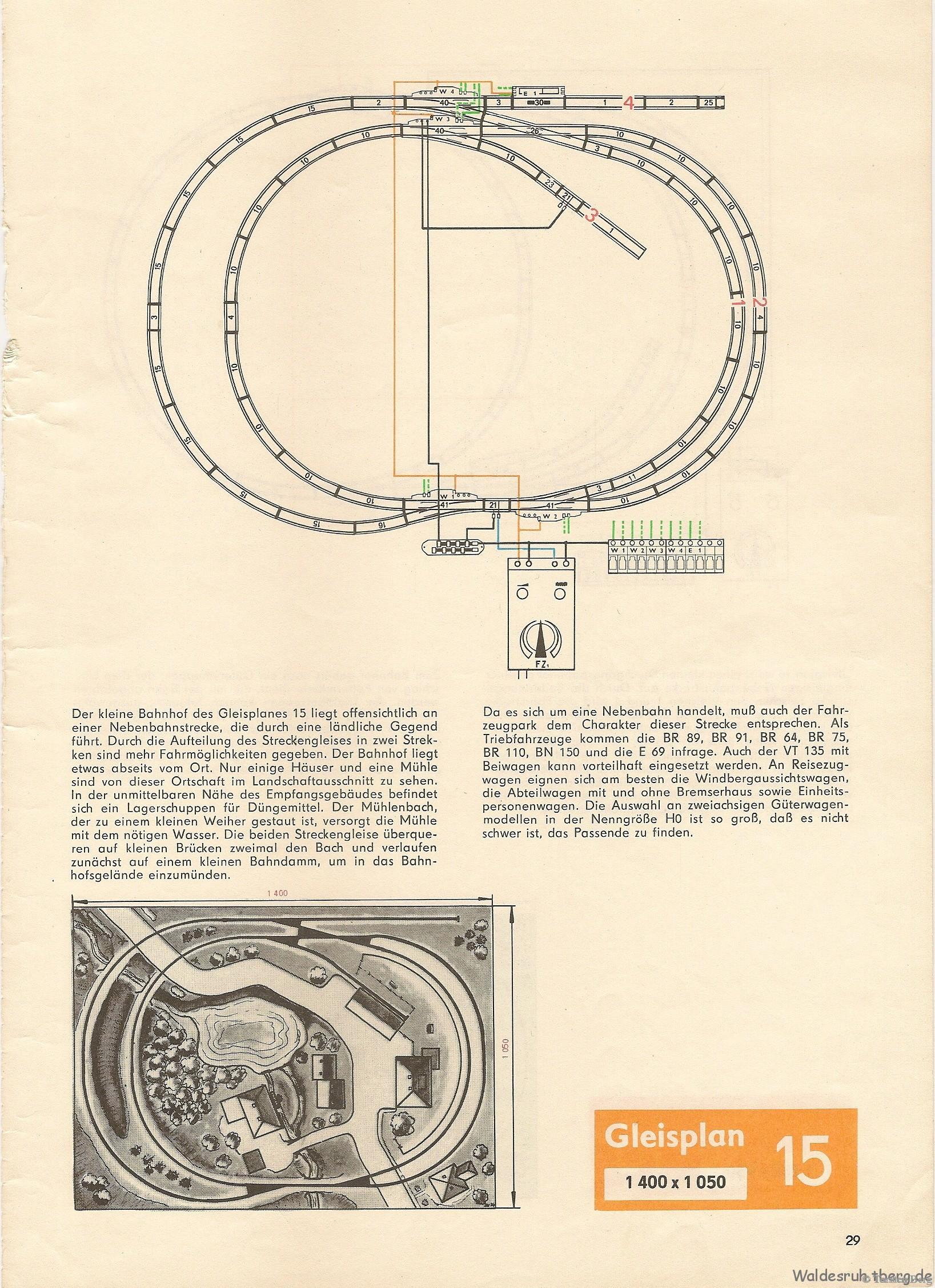 30 PIKO Standardgleis-Gleisplan 15