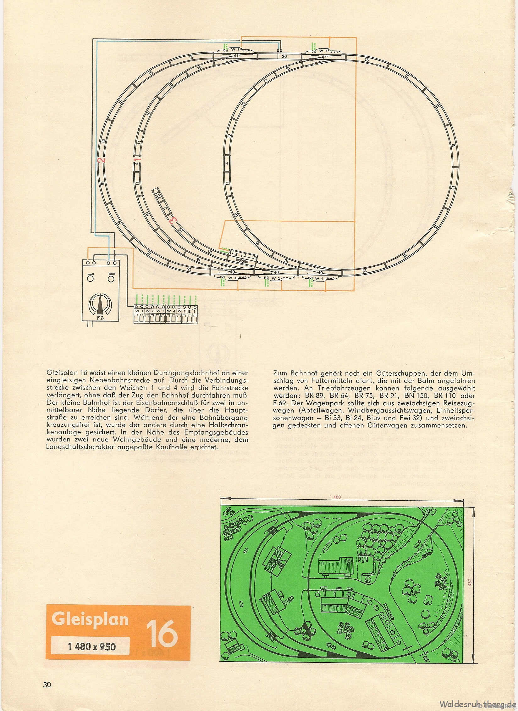 31 PIKO Standardgleis-Gleisplan 16