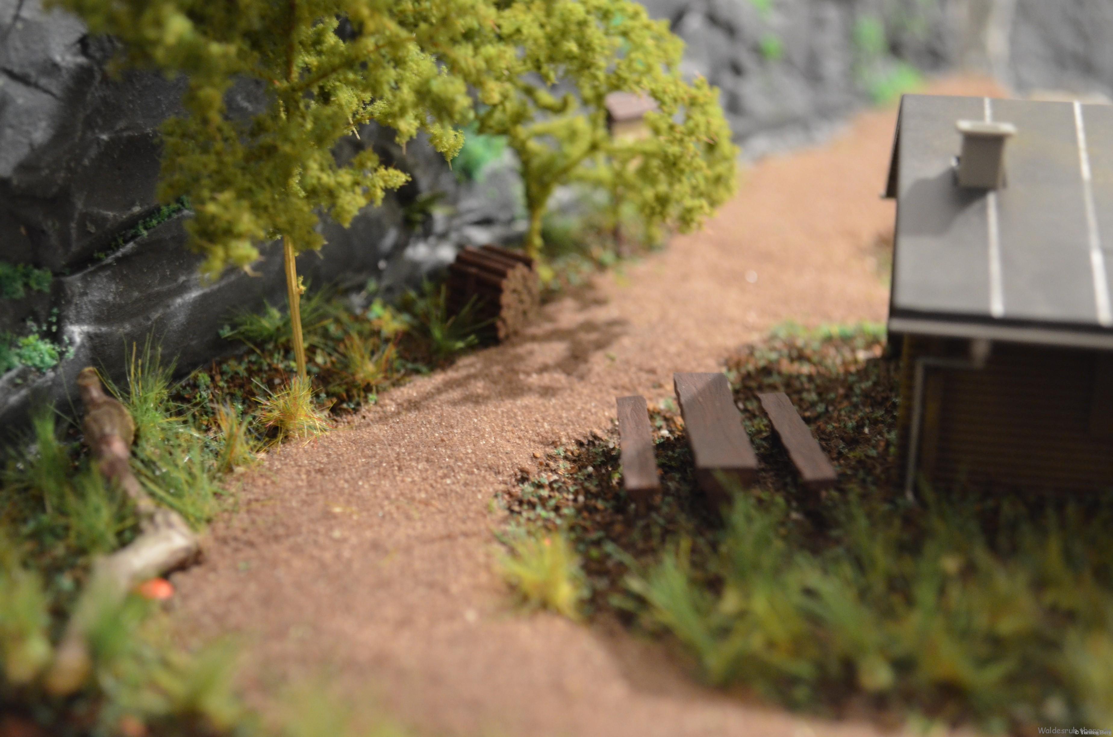 Ausstattung: Busch Wald-Set H0 6042