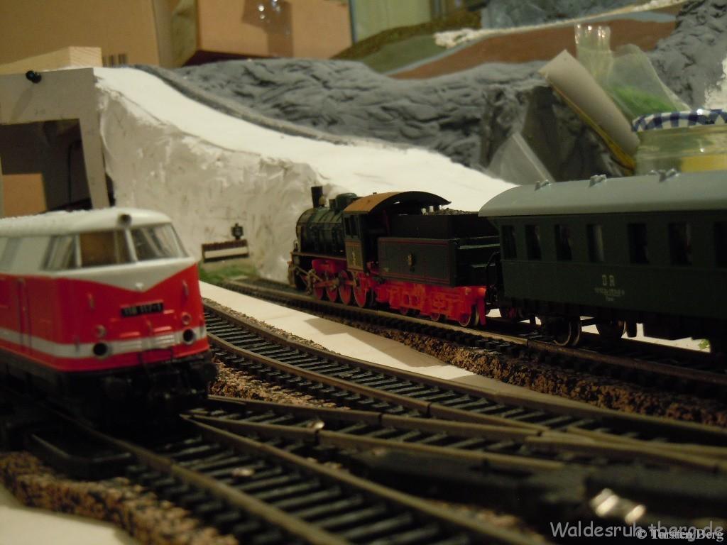 Testfahrt mit der BR120 und Personenwagen