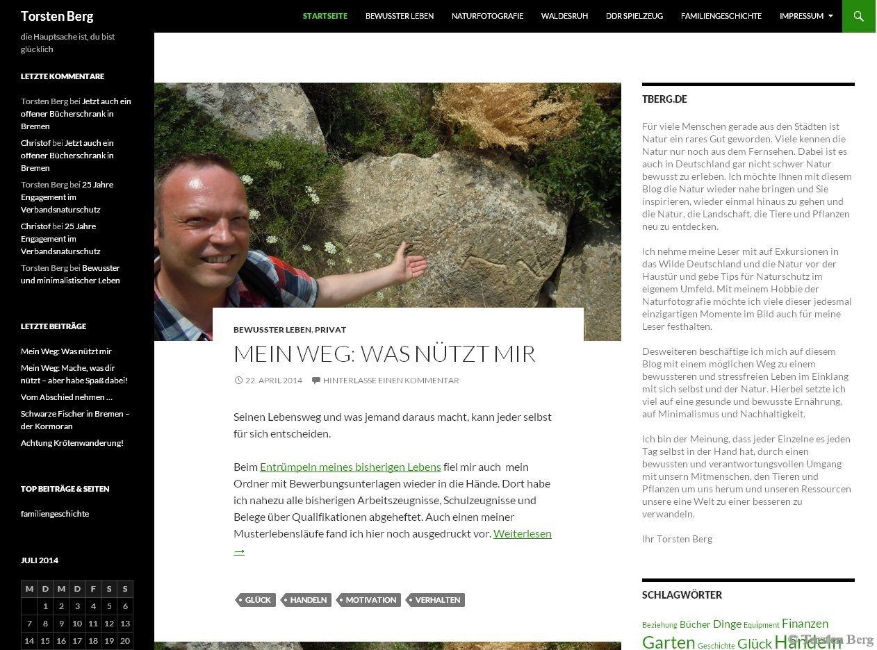 Online-Entrümpelung - auf dem Weg zum aufgeräumten Blog