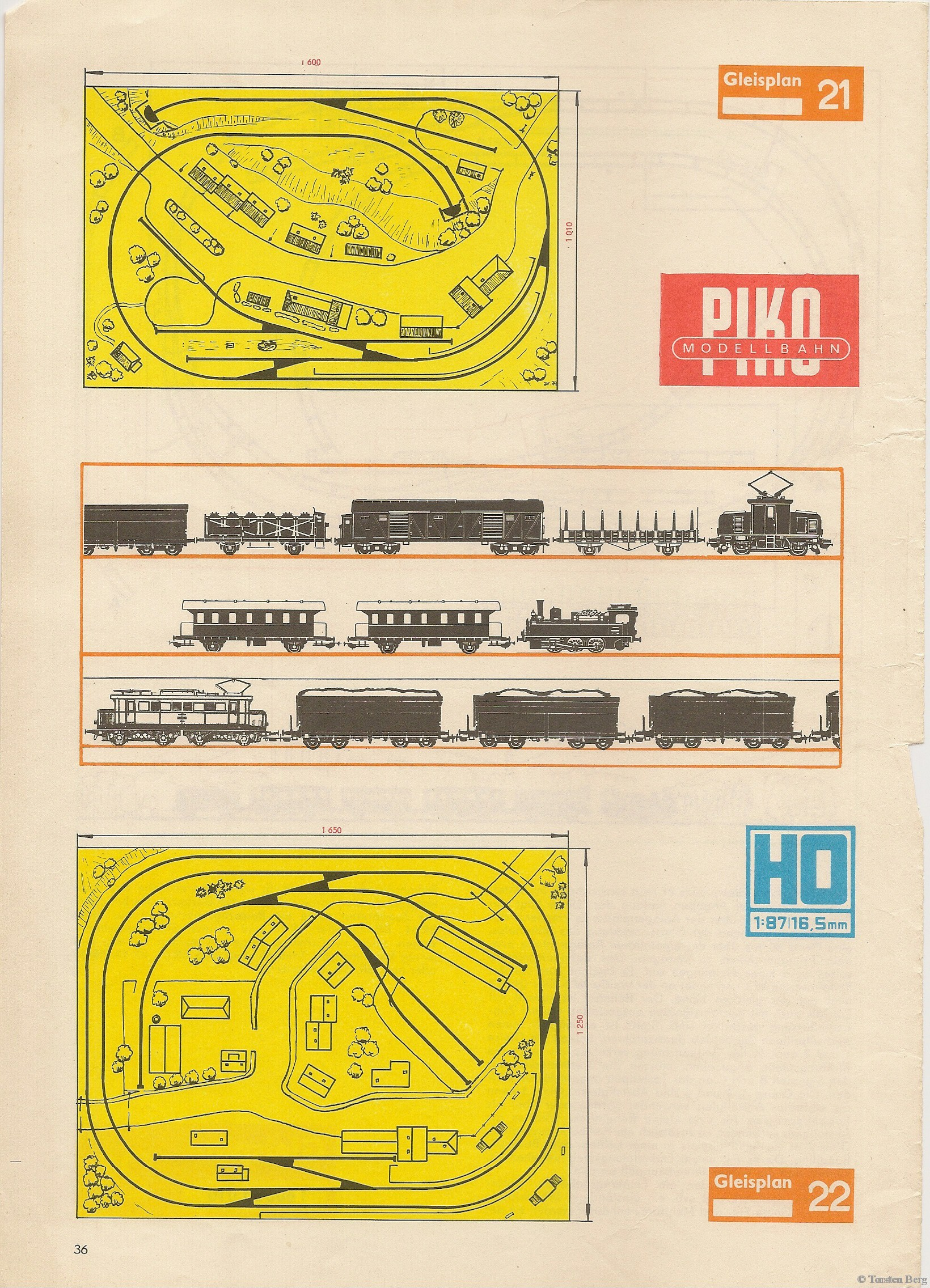 37 PIKO Standardgleis-Gleisplan 21-22