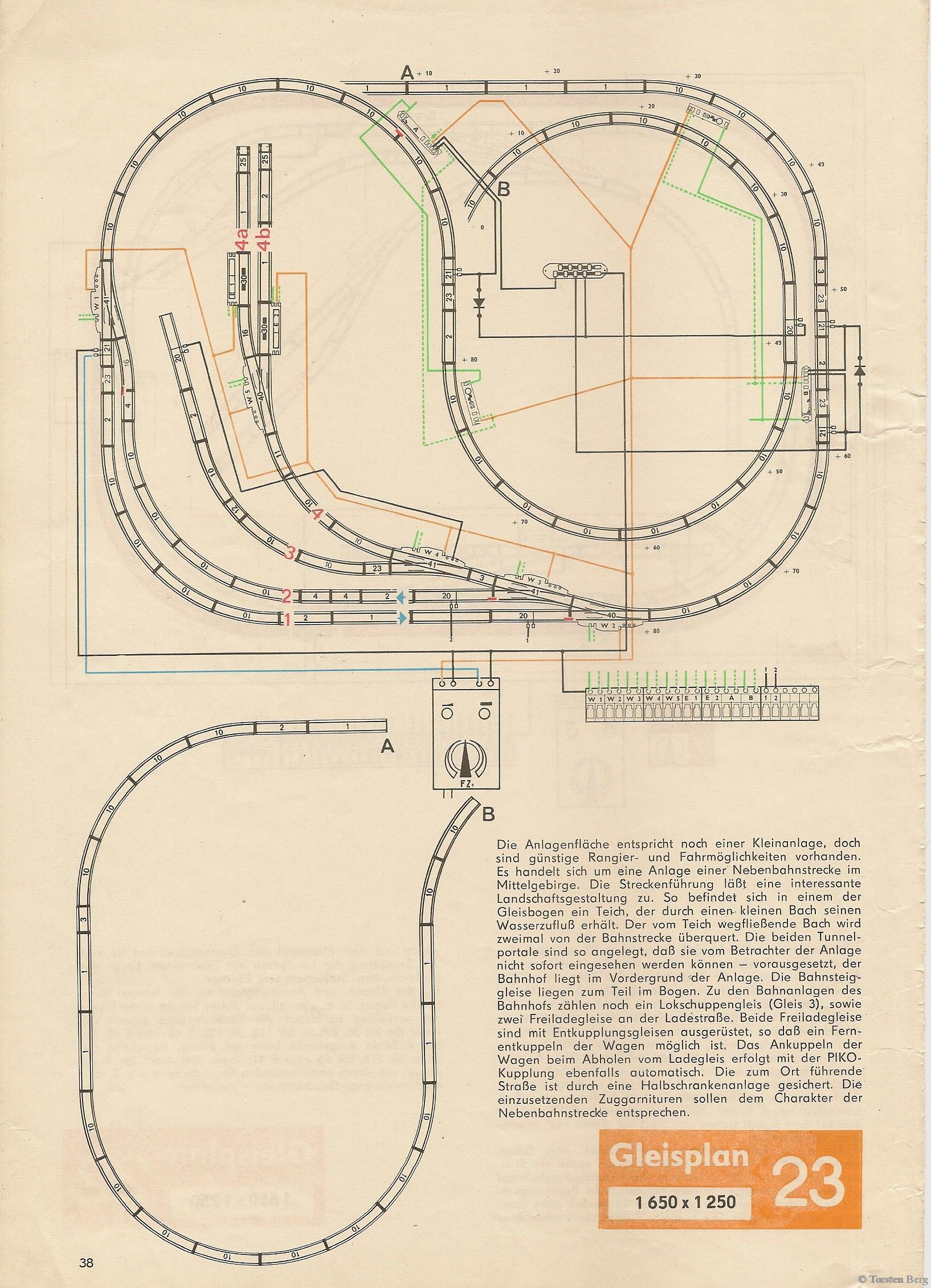 39 PIKO Standardgleis-Gleisplan 23