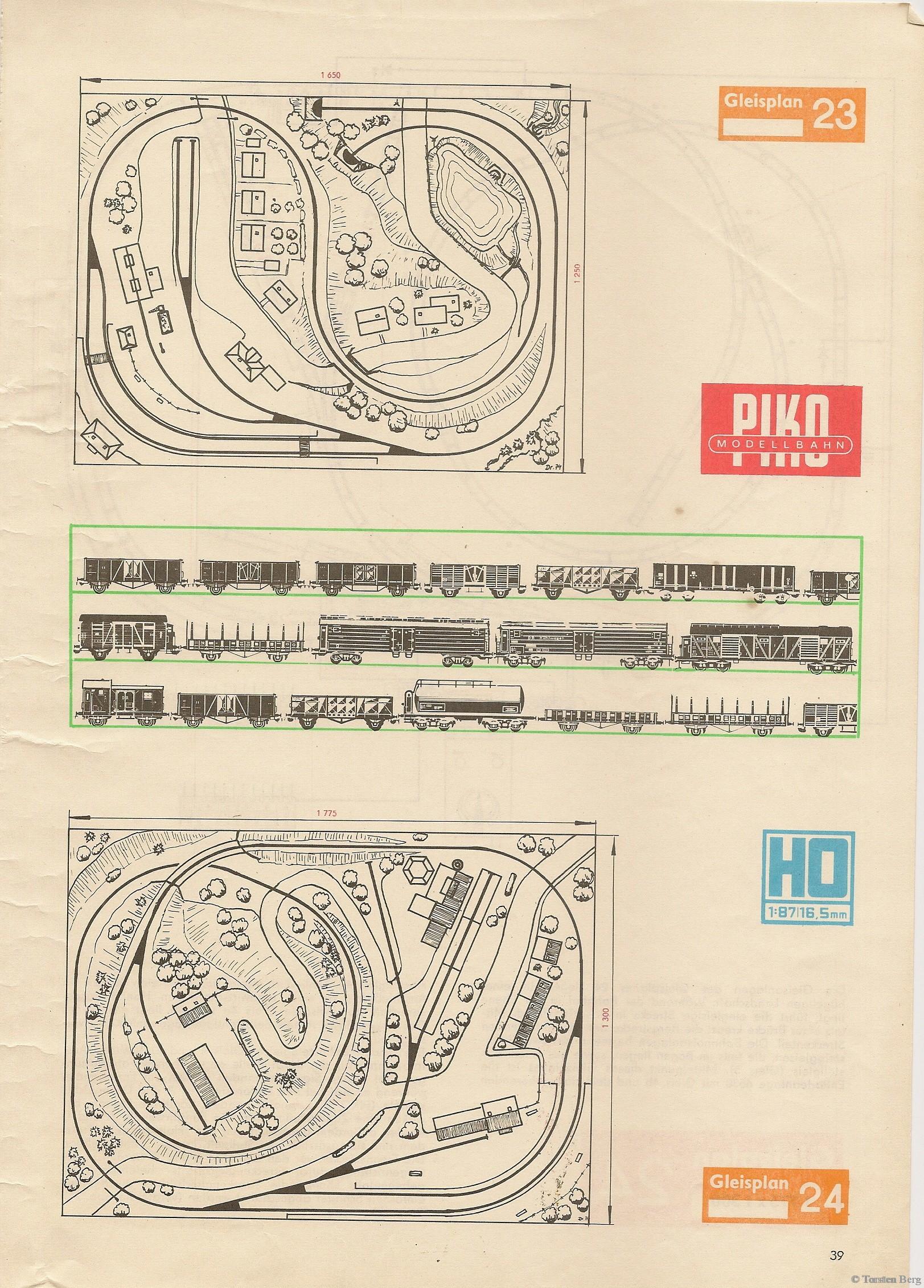 40 PIKO Standardgleis-Gleisplan 23-24