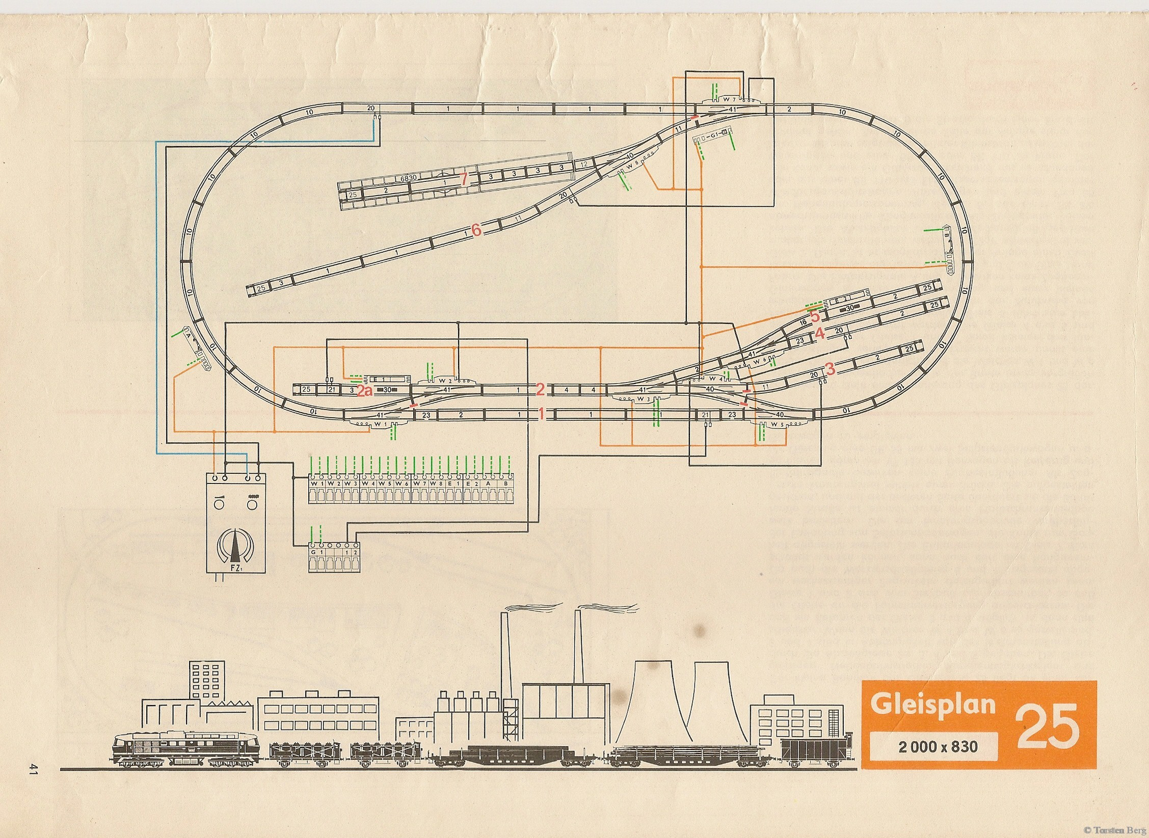 42 PIKO Standardgleis-Gleisplan 25