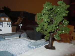 Belaubung von Bäumen - Auhagen Bausatz Laubbäume 70 927