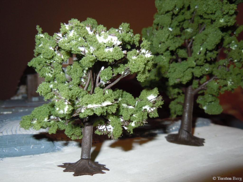 Belaubung von Bäumen für Waldesruh