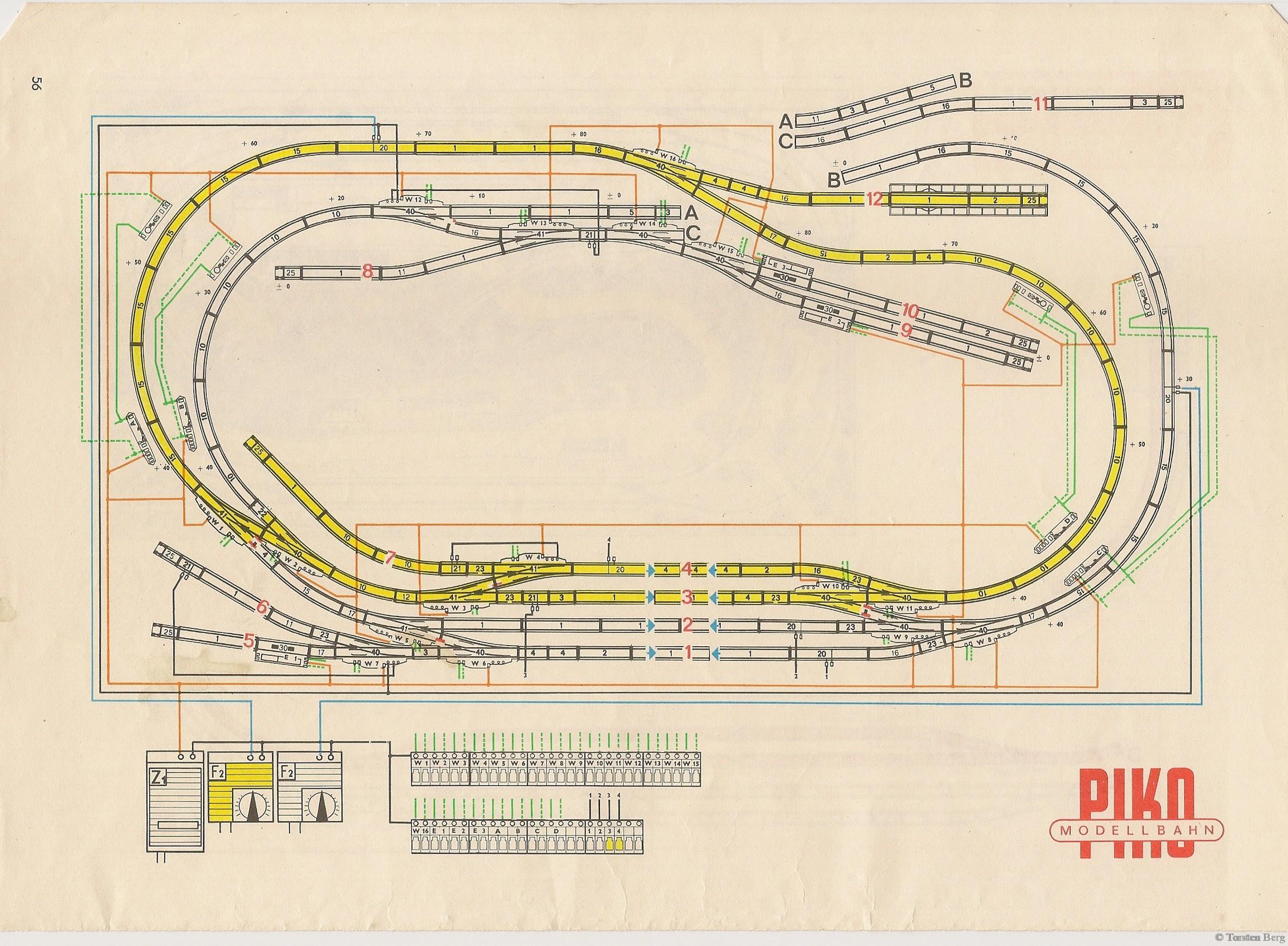 57 PIKO Standardgleis-Gleisplan 34