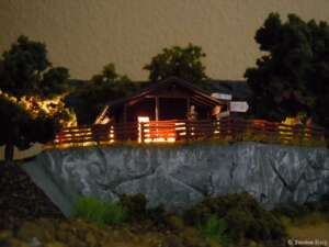 Abends am Nationalparkhaus