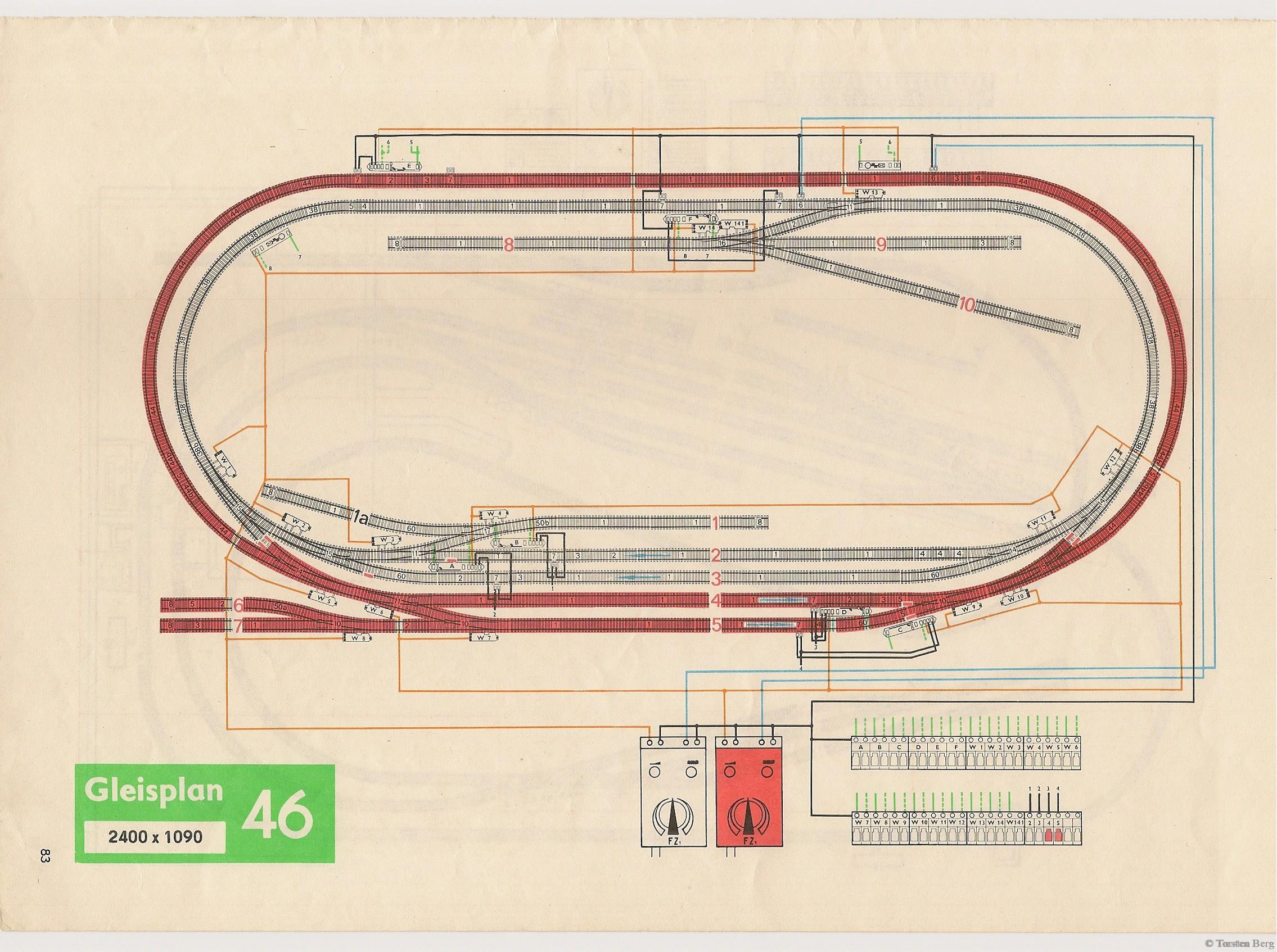 84 PIKO Standardgleis-Gleisplan 46