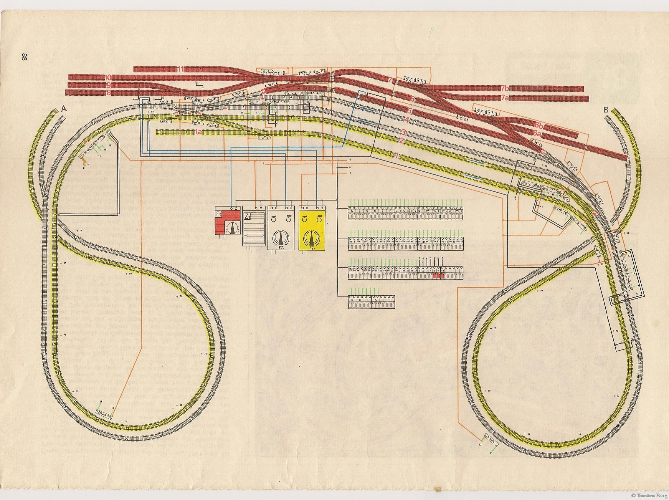 VEB Kombinat PIKO Standardgleis-Gleisplan 49