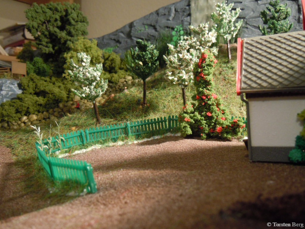 Ausgestaltung des Geländes um das Forsthaus von Förster Grünrock