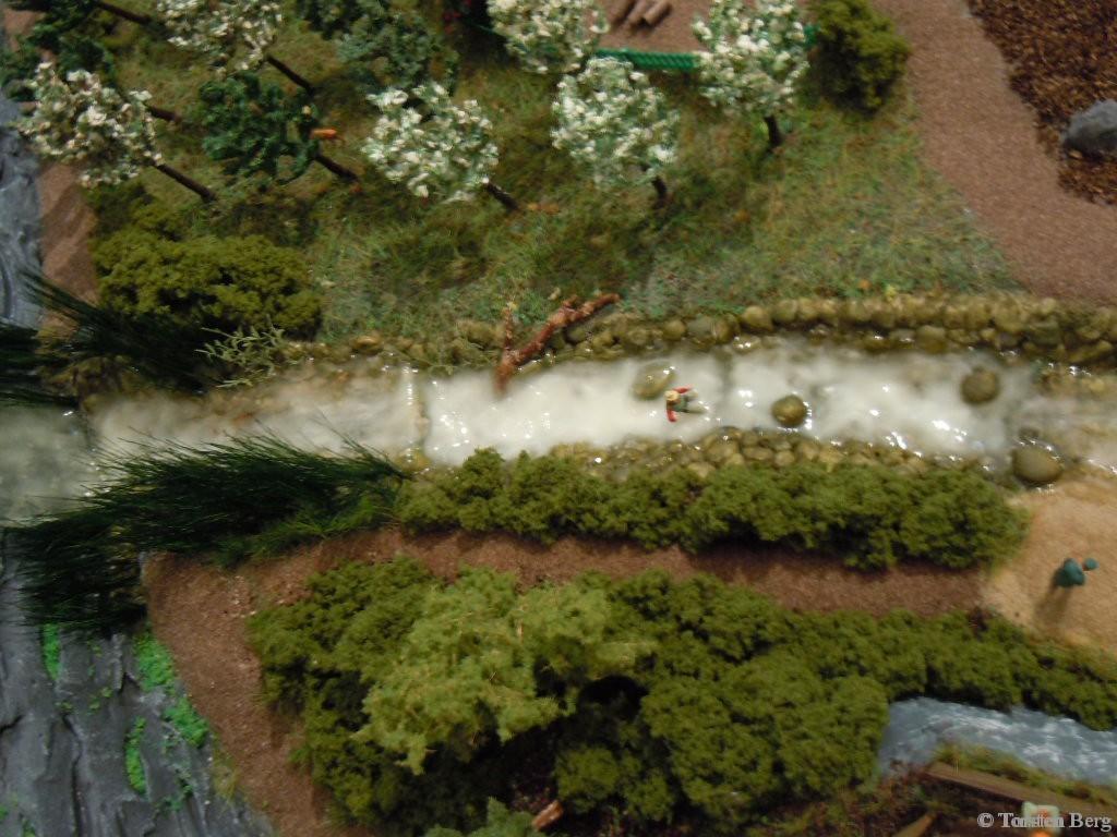 Das Wasser im Mühlenbach klärt sich - oder nicht ?