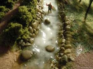 Das Wasser im Mühlenbach klärt sich - oder nicht?