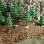Entstehung des Fichtenwaldes am Ramberger Forst