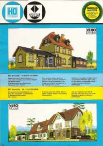 VEB VERO Katalog Modellbahnzubehör