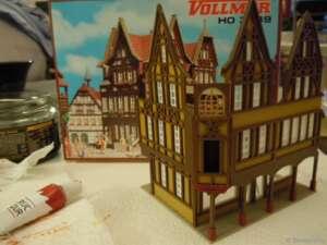 Spielzeugwarenmanufaktur im Bau