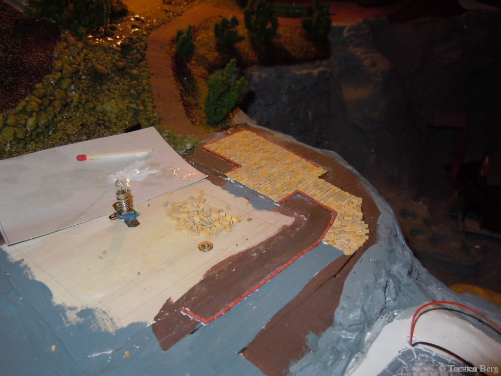 Pflasterung an der Rukollamühle