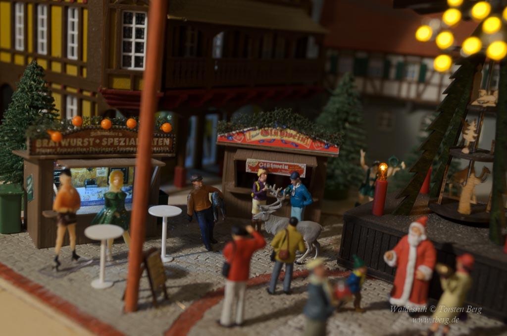 Auf dem Weihnachtsmarkt am 1. Advent