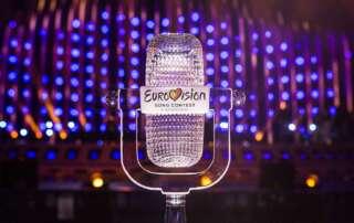 Wer gewinnt die Eurovisionstrophäe? Photo by: Thomas Hanses