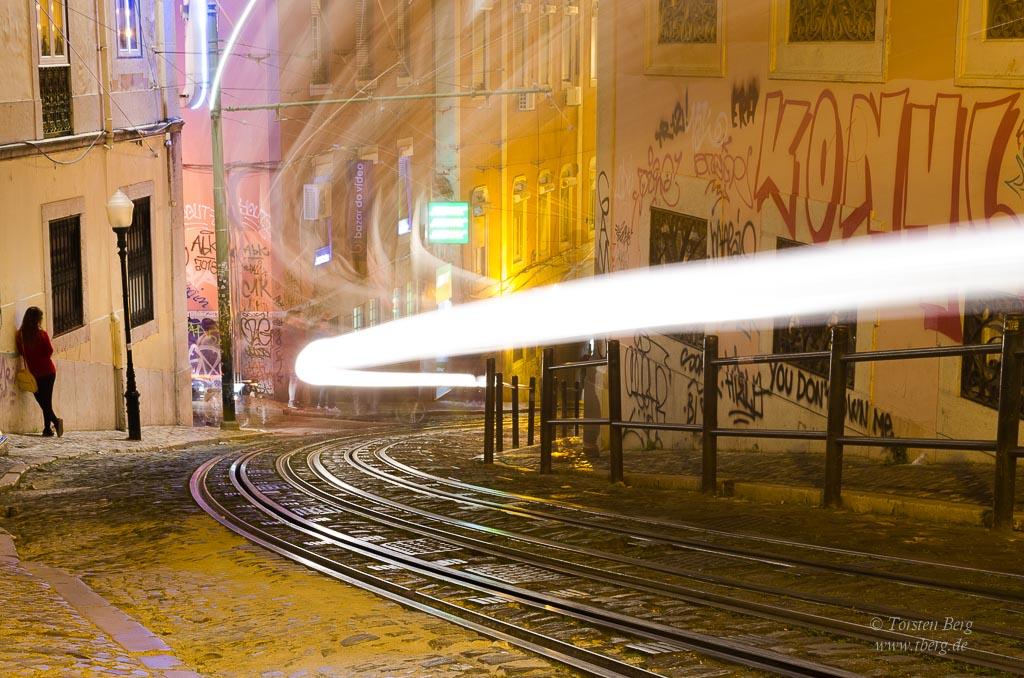 Mein Beitrag zur Fotoausstellung Farbe - Nachts