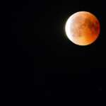 Für die totale Mondfinsternis 2018 bei Syke unterwegs