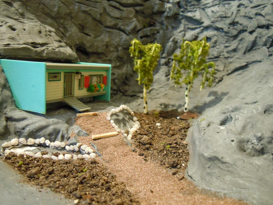 Baubericht für die Drachenglashöhle in Waldesruh