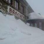 Im Winter zum Brocken im Harz unterwegs - Brockenbahnhof