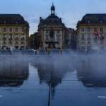 """Fotoparade 2019: meine kleine Reise durch das Fotojahr Der """"Wasserspiegel"""" miroir d'eau in Bordeaux"""