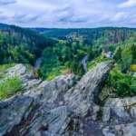 Fotoparade 2019: meine kleine Reise durch das Fotojahr Blick über das Selketal im Harz