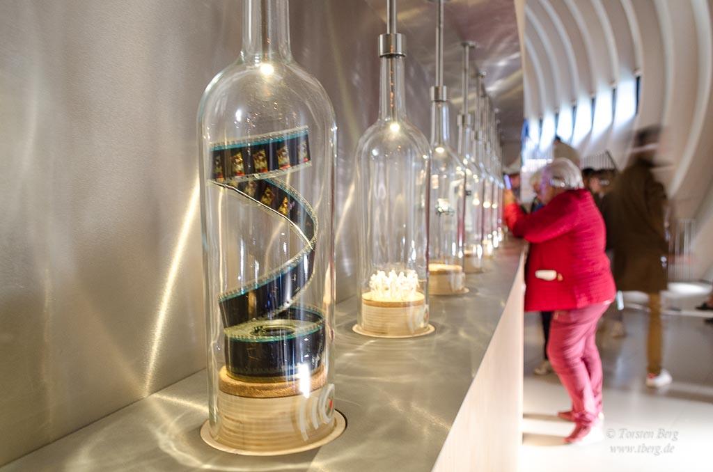 Eine Welt der Kulturen in der Cité du Vin in Bordeaux