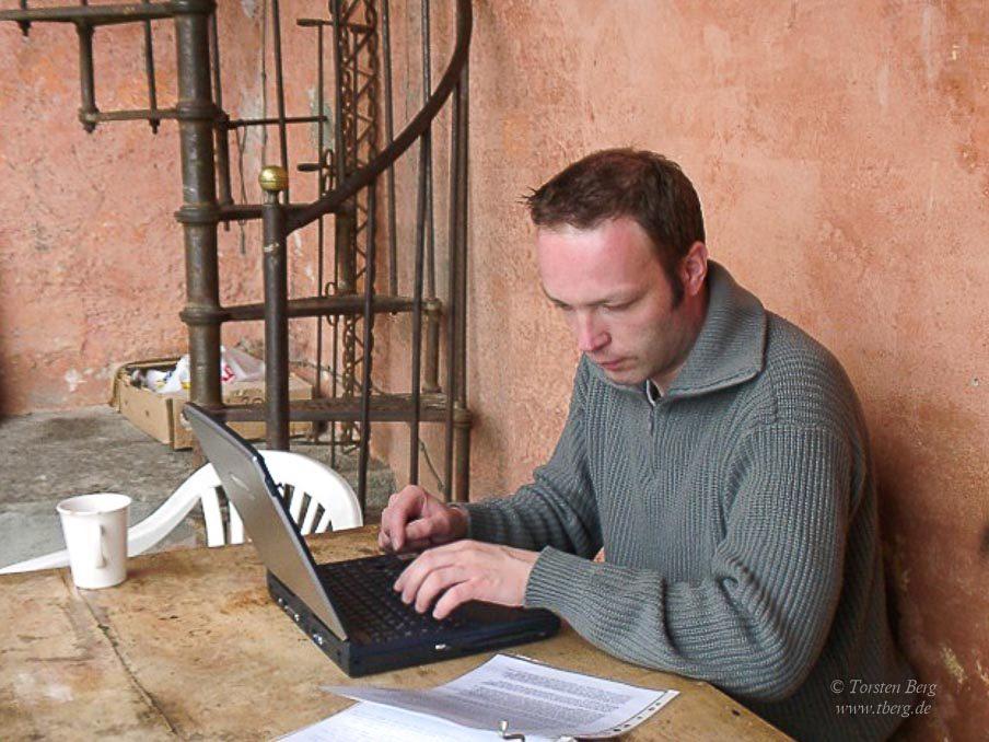 Das Reisen in meinem Leben: 2002 beim Bloggen in Formine - Italien