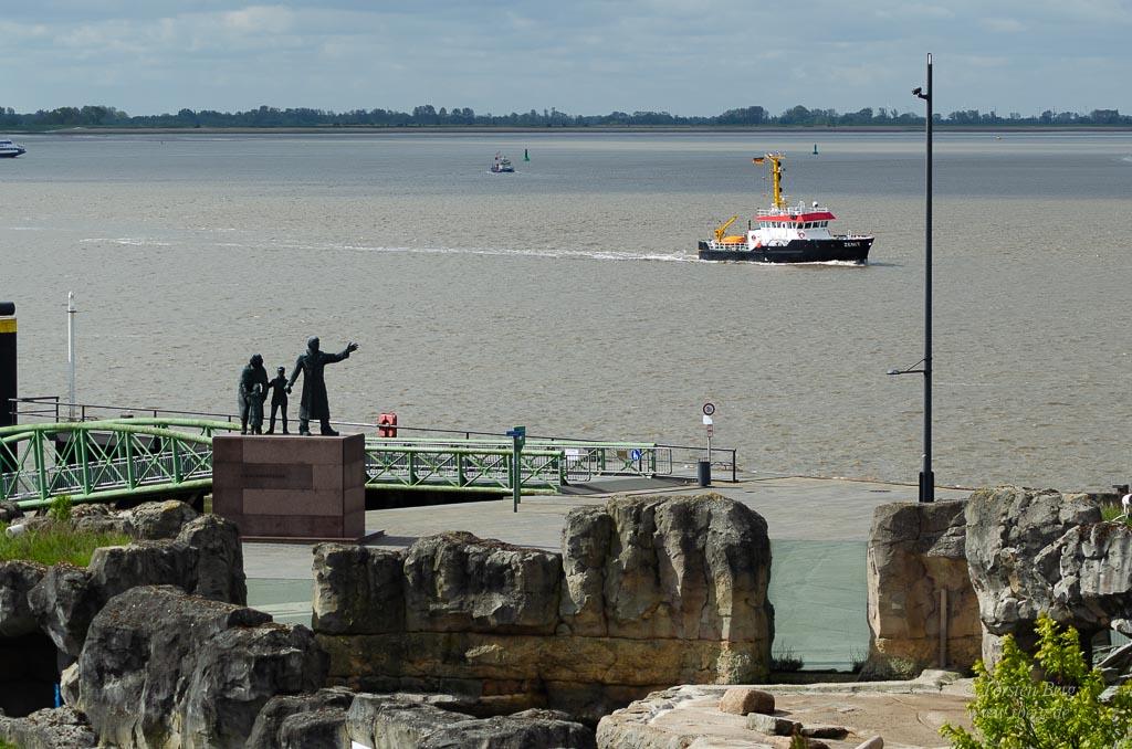 Gedanken im Mai 2020 - Natur und Kultur gehören zusammen wie hier in Bremerhaven