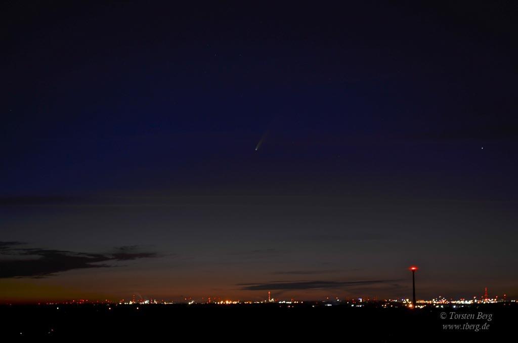 Komet Neowise beobachten und fotografieren