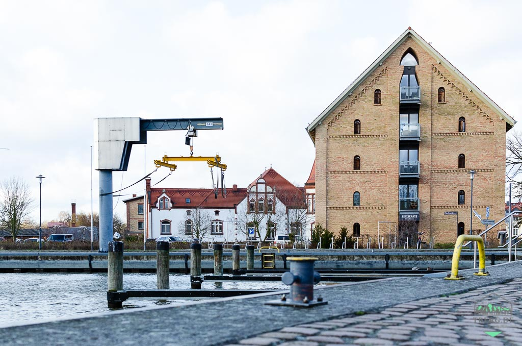 Residenzstadt Neustrelitz - am Rande des Stadthafens