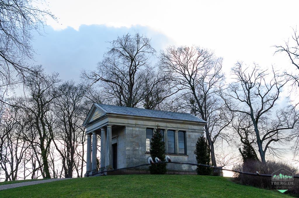 Residenzstadt Neustrelitz - Gedächtnishalle für Königin Luise von Preussen im Schlossgarten