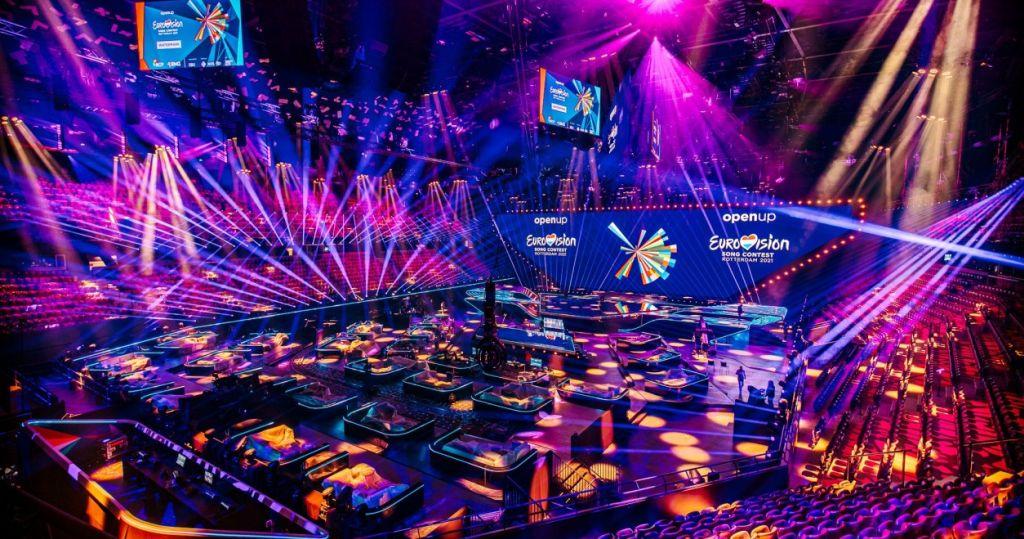 Ahoy-Arena Rotterdam: 1. Semifinale 2021 des ESC - ESC 2021 Rotterdam Bühne Fotograf Nathan Reinds