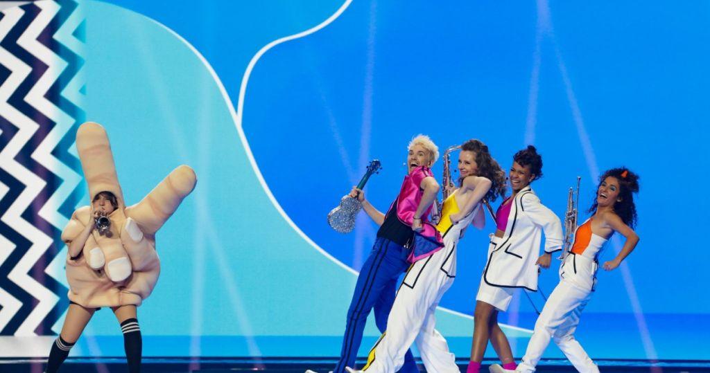 Finale des Eurovision Song Contest 2021 aus Rotterdam - Jendrik für Deutschland