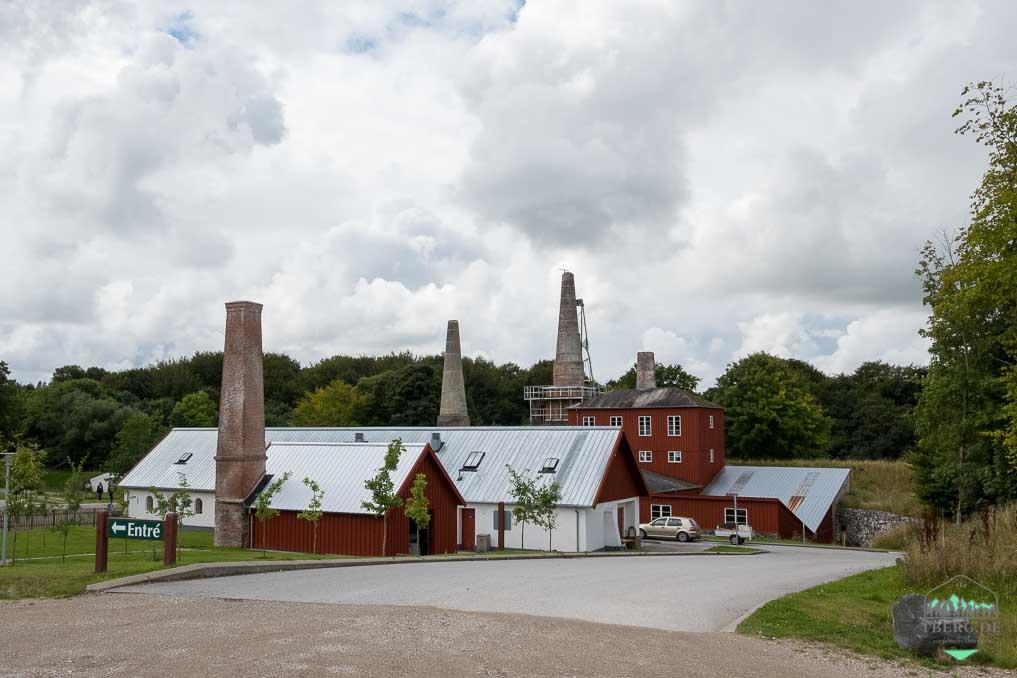 Mønstedt-Kalkgruben - das etwas andere Naturerlebnis - Eingangsbereich vom Kalkwerk
