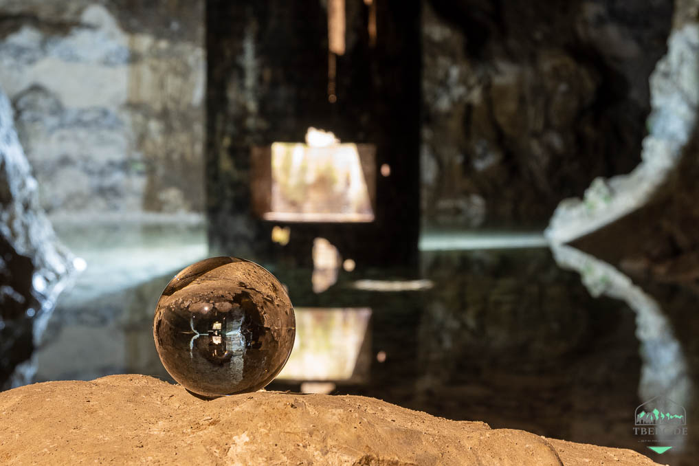Mønstedt-Kalkgruben - das etwas andere Naturerlebnis - Lensball - fotografische Spielerei