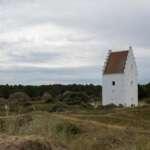 Die versandete Kirche bei Skagen - den tilsandede kirke
