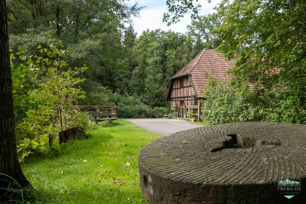 Mühlenidylle am Nordpfad Federlohmühlen - die alte Wassermühle Federlohmühlen
